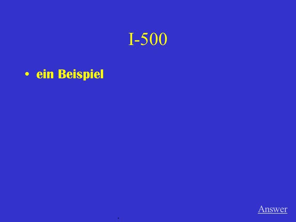 IV-500 A Der Spitzname für die Flugzeuge, die Essen und andere Sachen nach Westberlin transportierten während der Berliner Blockade.