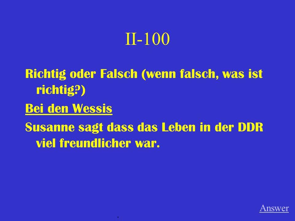 IV-100 Wann wurde die Mauer gebaut? Answer.