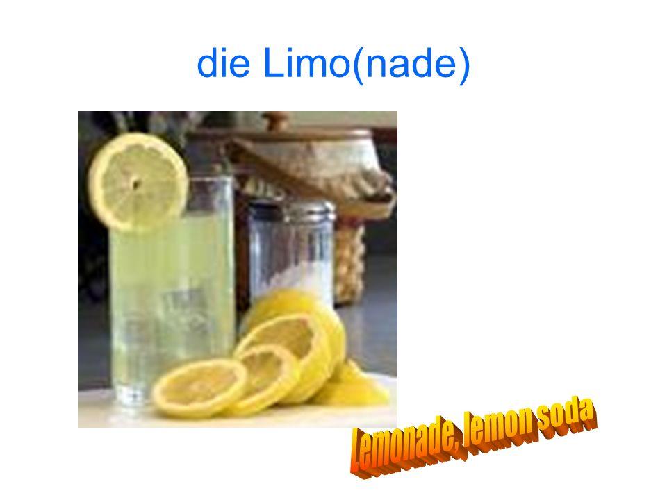 die Limo(nade)