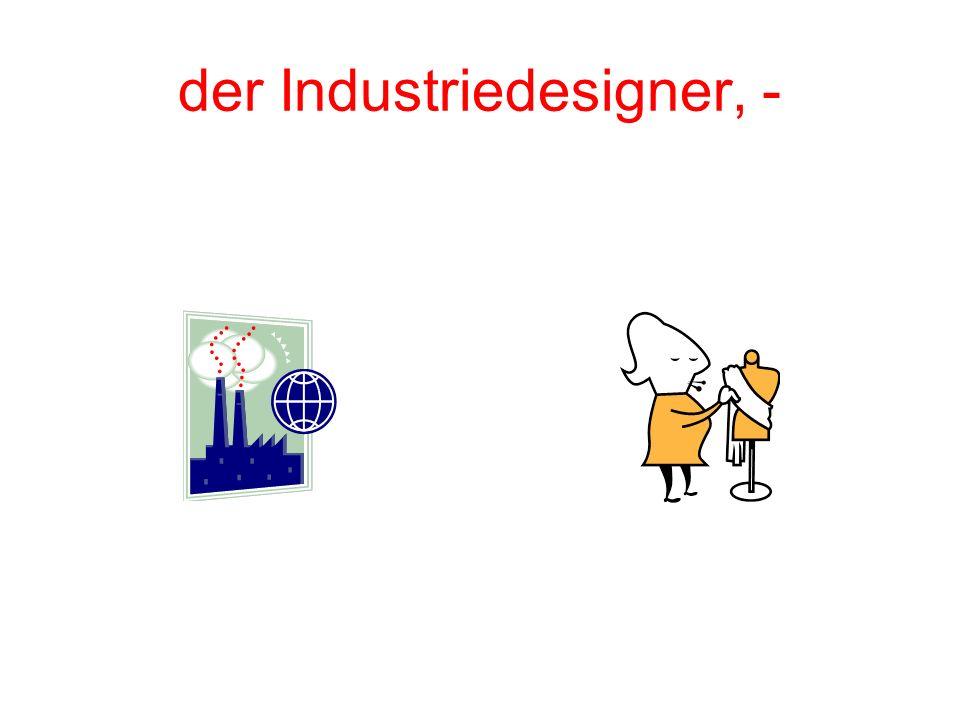der Industriedesigner, -