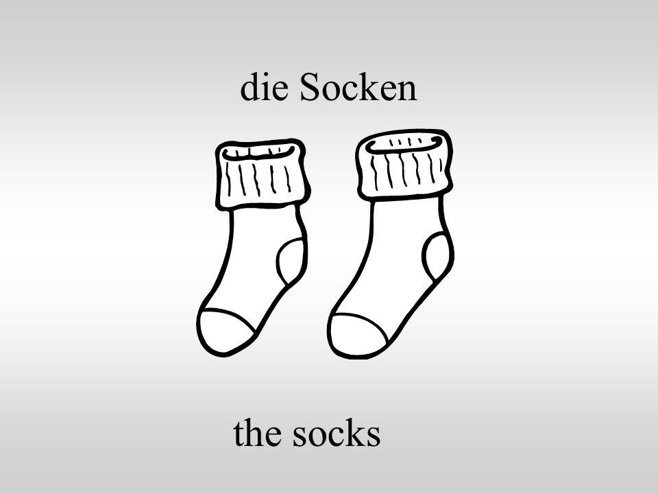 die Socken the socks