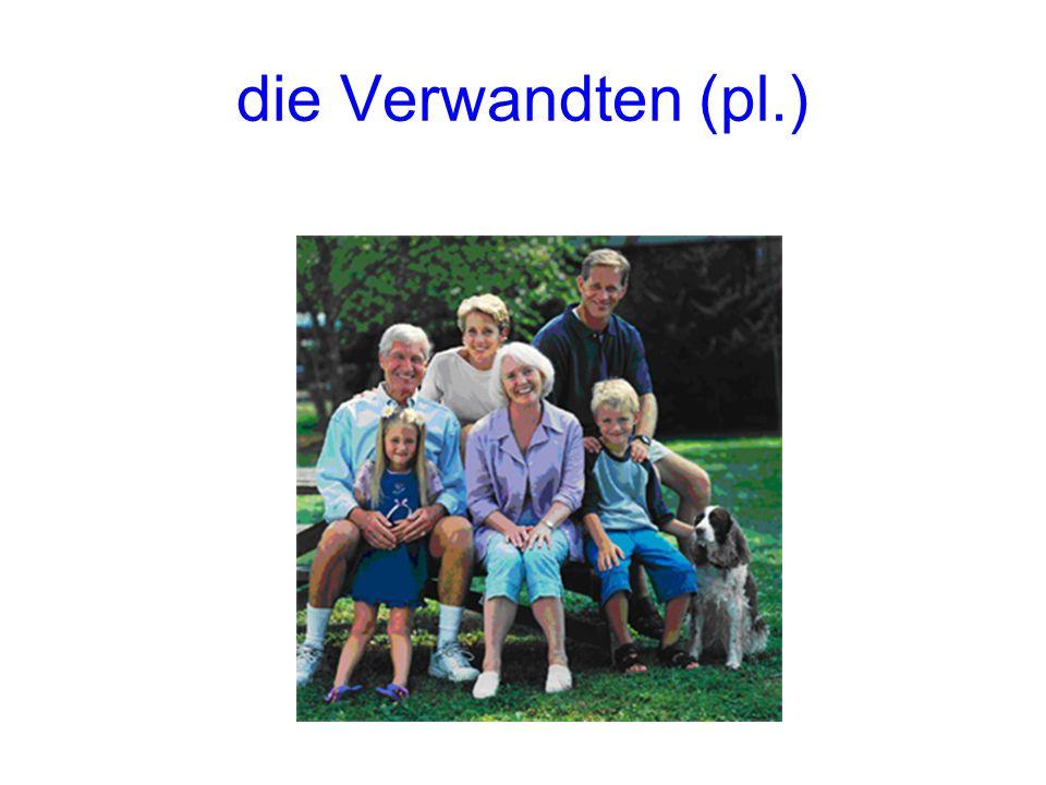 die Verwandten (pl.)