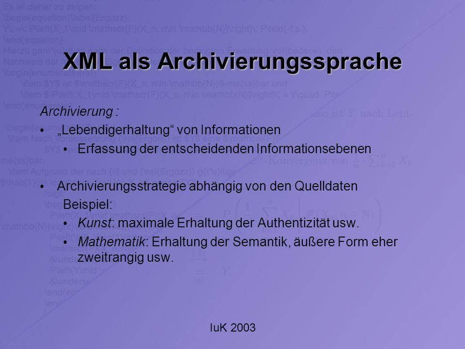 IuK 2003 Kontakt Sebastian Pokutta Universität Duisburg-Essen - Standort Duisburg - E-Mail: pokutta@math.uni-duisburg.de