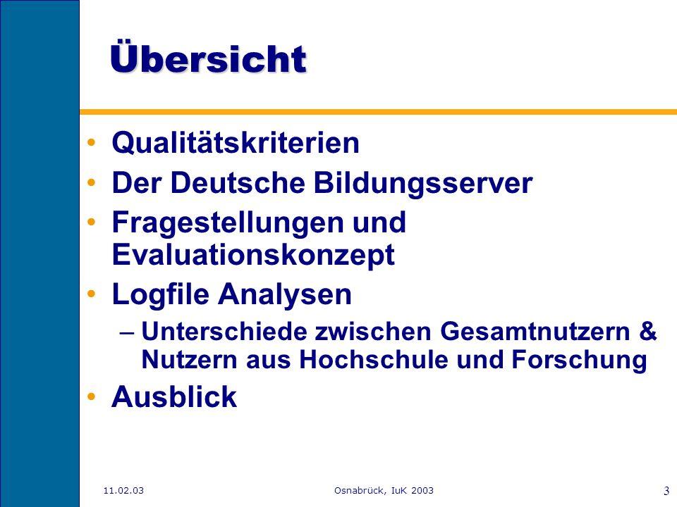 11.02.03Osnabrück, IuK 2003 2 Wie können wir mehr Menschen mit mehr Informationen versorgen, schnell und in verschiedenen Formen? Forscher haben hunde