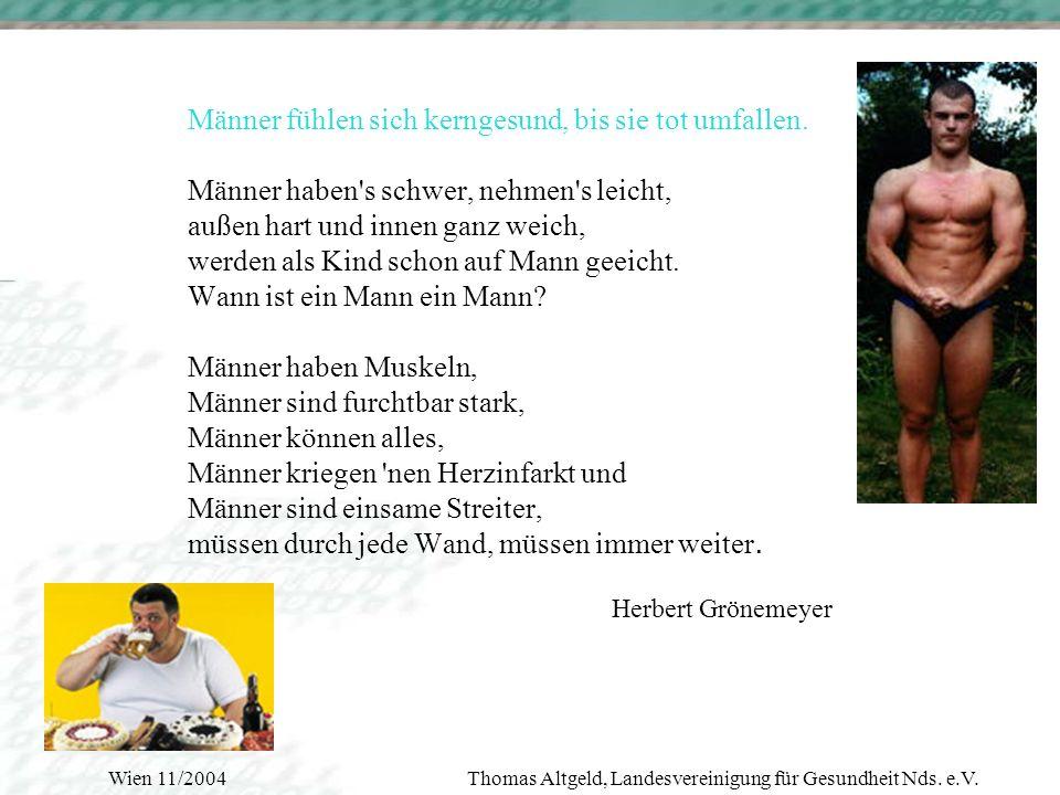 Wien 11/2004Thomas Altgeld, Landesvereinigung für Gesundheit Nds.