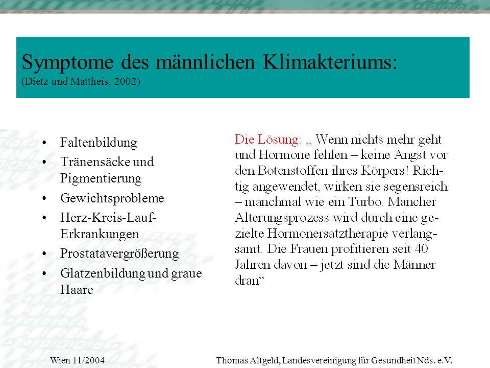 Wien 11/2004Thomas Altgeld, Landesvereinigung für Gesundheit Nds. e.V.