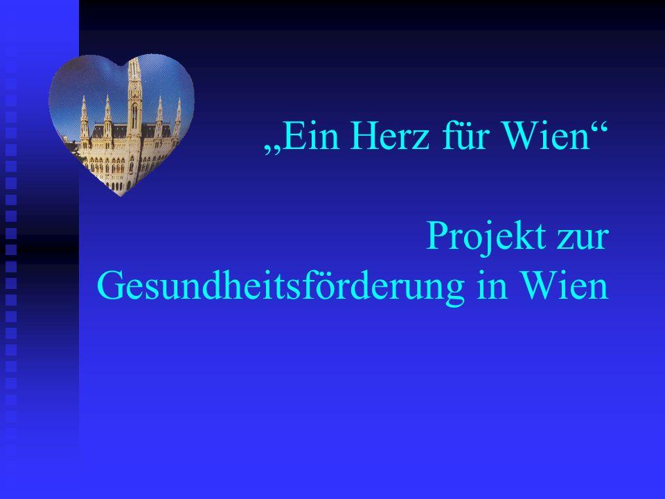 Ein Herz für Wien Projekt zur Gesundheitsförderung in Wien