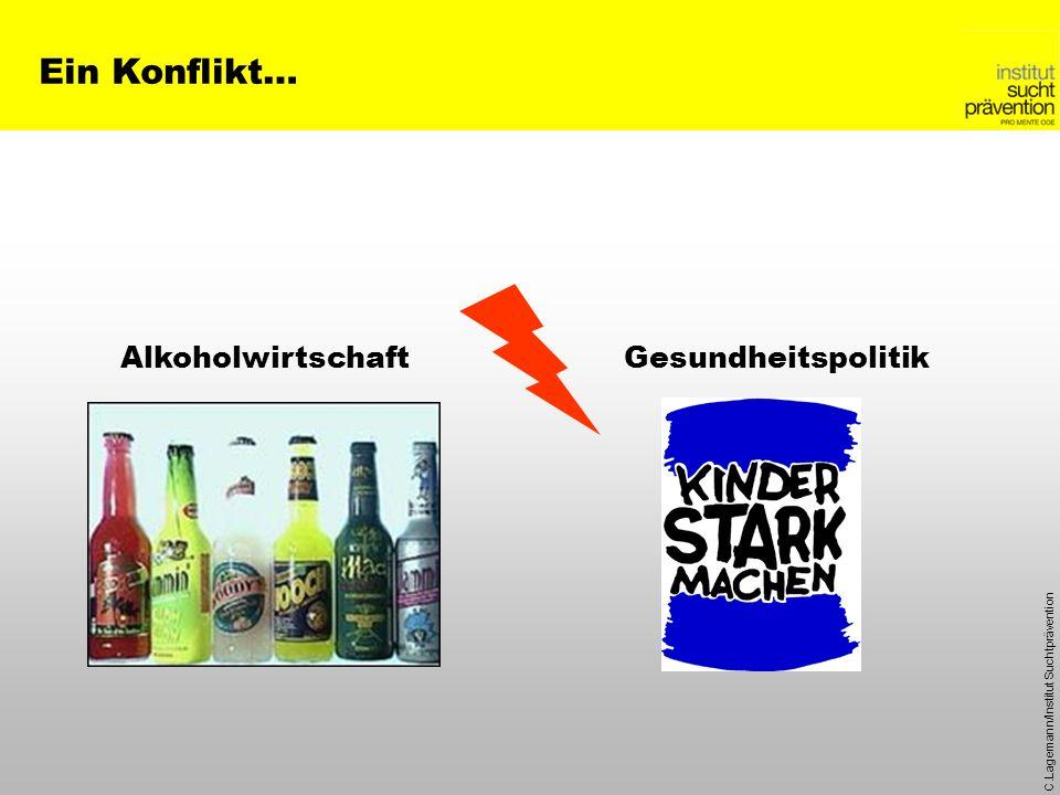 C.Lagemann/Institut Suchtprävention AlkoholwirtschaftGesundheitspolitik Ein Konflikt…