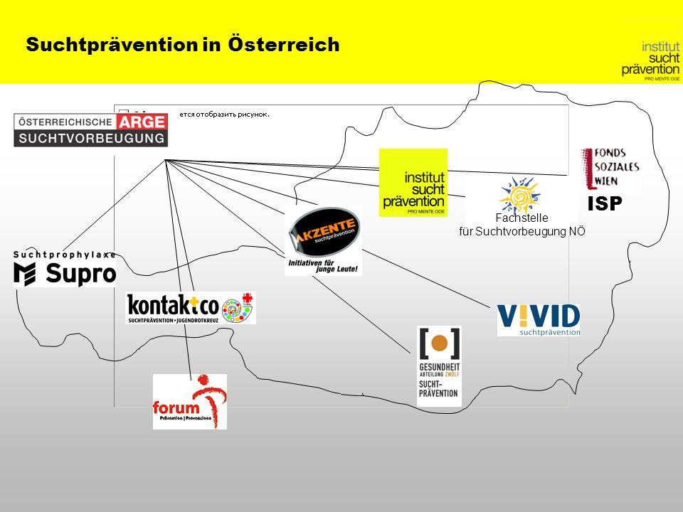ISP Fachstelle für Suchtvorbeugung NÖ Suchtprävention in Österreich