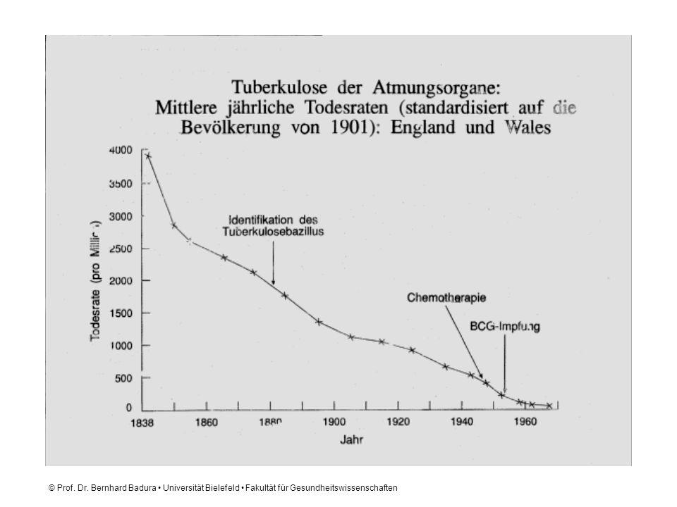 © Prof. Dr. Bernhard Badura Universität Bielefeld Fakultät für Gesundheitswissenschaften