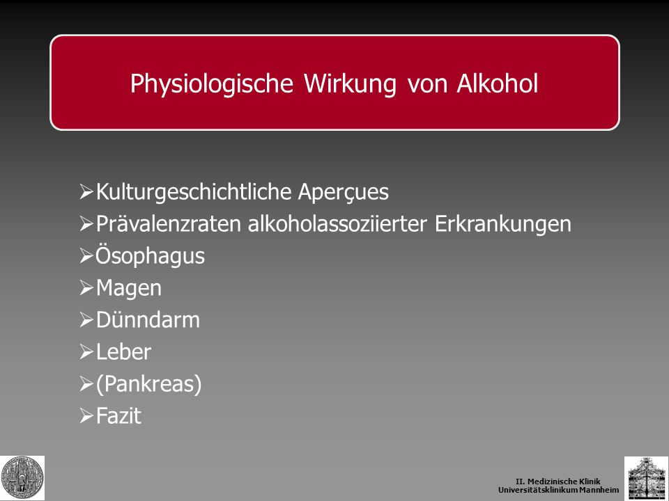 Schäfer & Bode 1999 Alkohol-assoziierte Lebererkrankungen II.