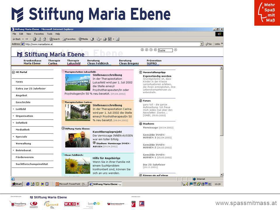 www.spassmitmass.at Seite 2