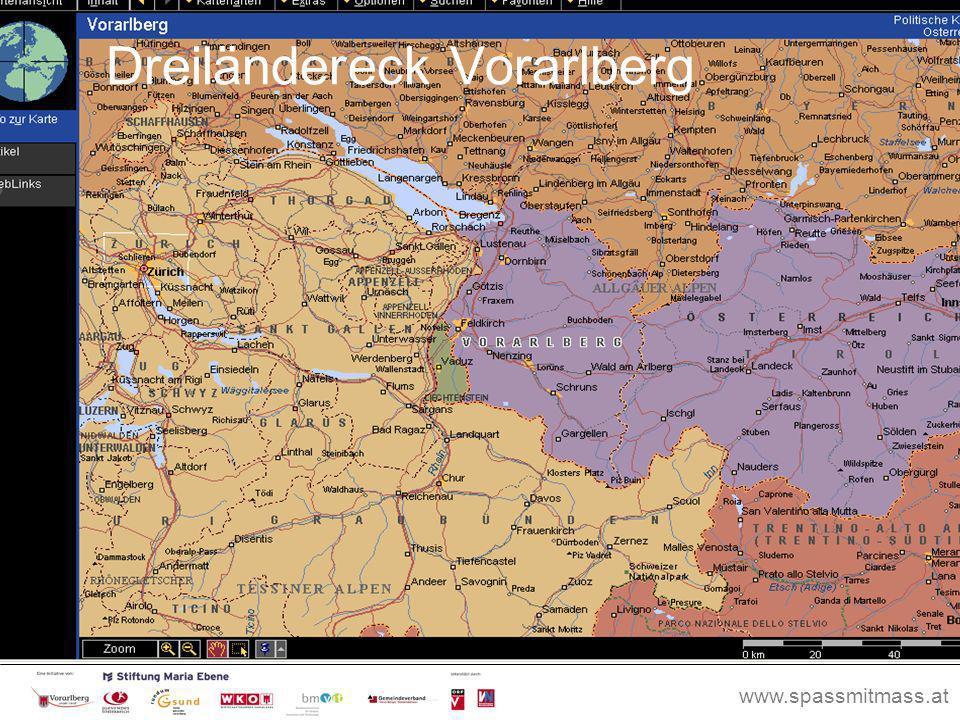www.spassmitmass.at Seite 53 Dreiländereck Vorarlberg