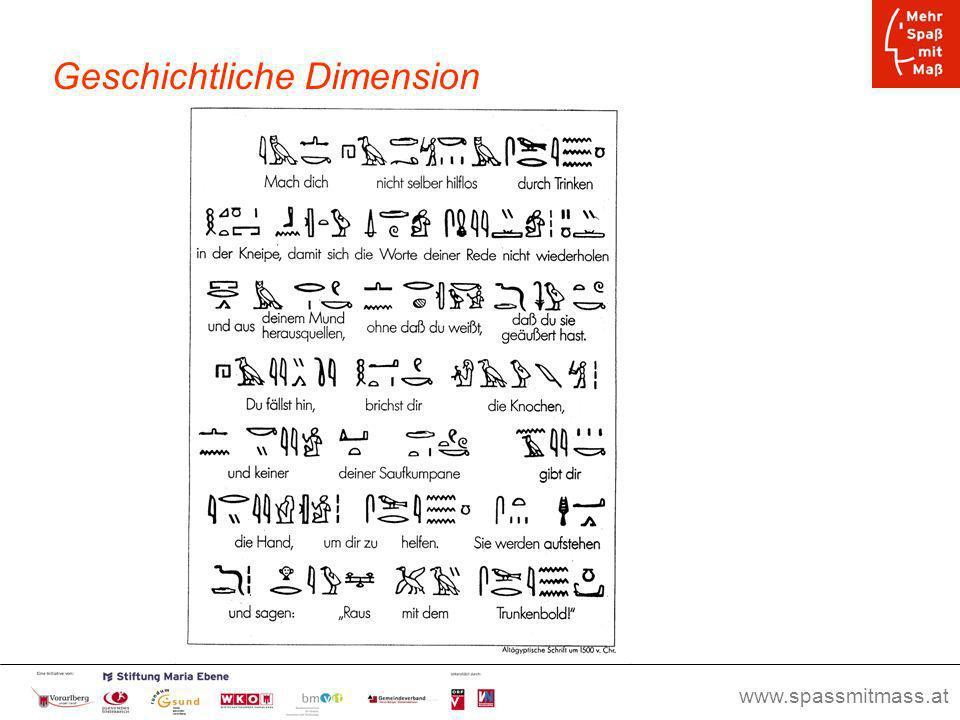 www.spassmitmass.at Seite 6 Geschichtliche Dimension