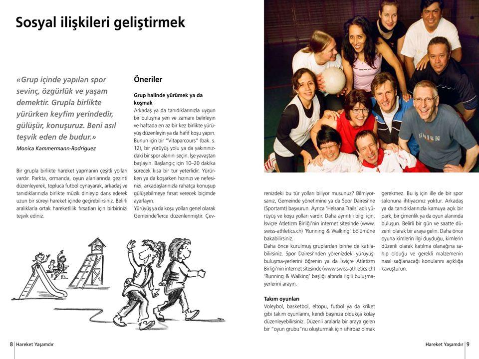 10 Bundesamt für Sport BASPO Bewegung und Gesundheit