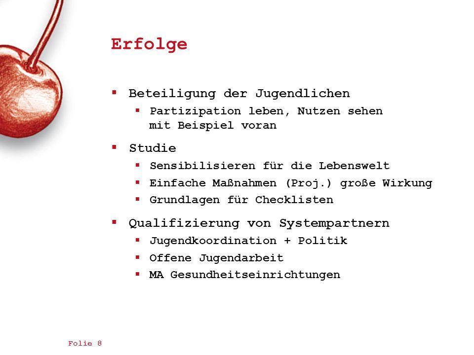 01.02.2011 Jugend trifft Gesundheit 19 Fokusgruppe II / Gesundheitsangebote Kennen und Bewerten: Lustenau (m/w) 17-20 Jahre