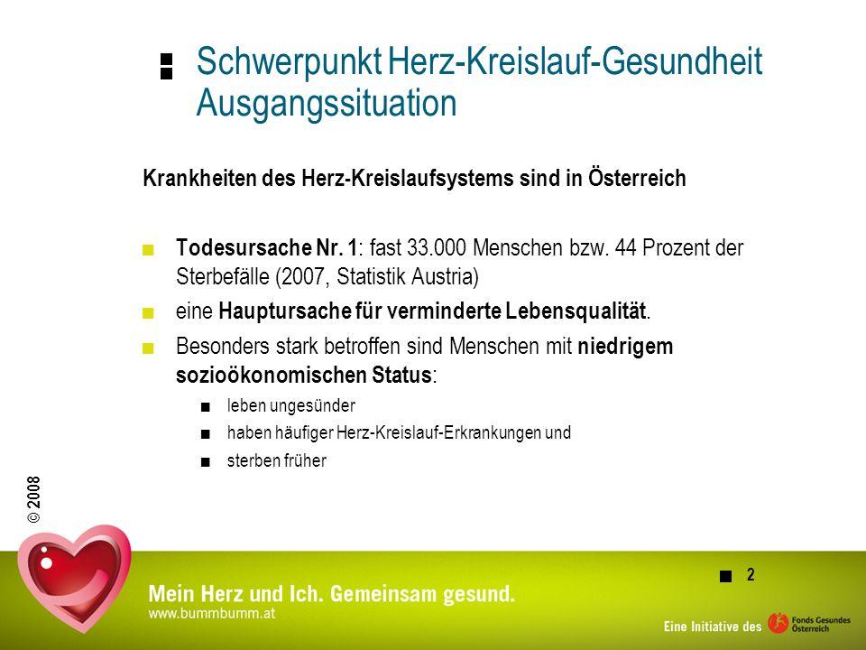 © 2008 3 Herz-Kreislauf-Erkrankungen....