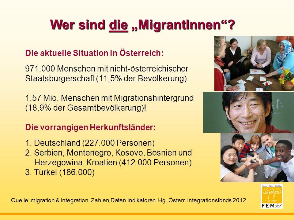 Wer sind die MigrantInnen.