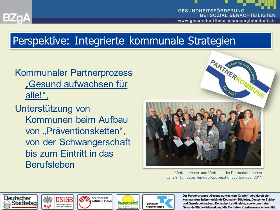 Vertreterinnen und Vertreter der Partnerkommunen zum 9. Jahrestreffen des Kooperationsverbundes, 2011 Perspektive: Integrierte kommunale Strategien Ko