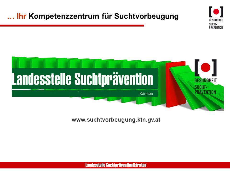 Landesstelle Suchtprävention Kärnten ZIEL +Kognitive + Soziale + Emotionale Kompetenzen - Substanzkonsum u.
