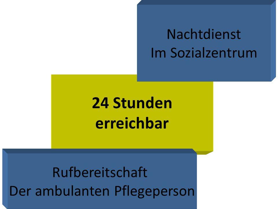 24 Stunden erreichbar Nachtdienst Im Sozialzentrum Rufbereitschaft Der ambulanten Pflegeperson
