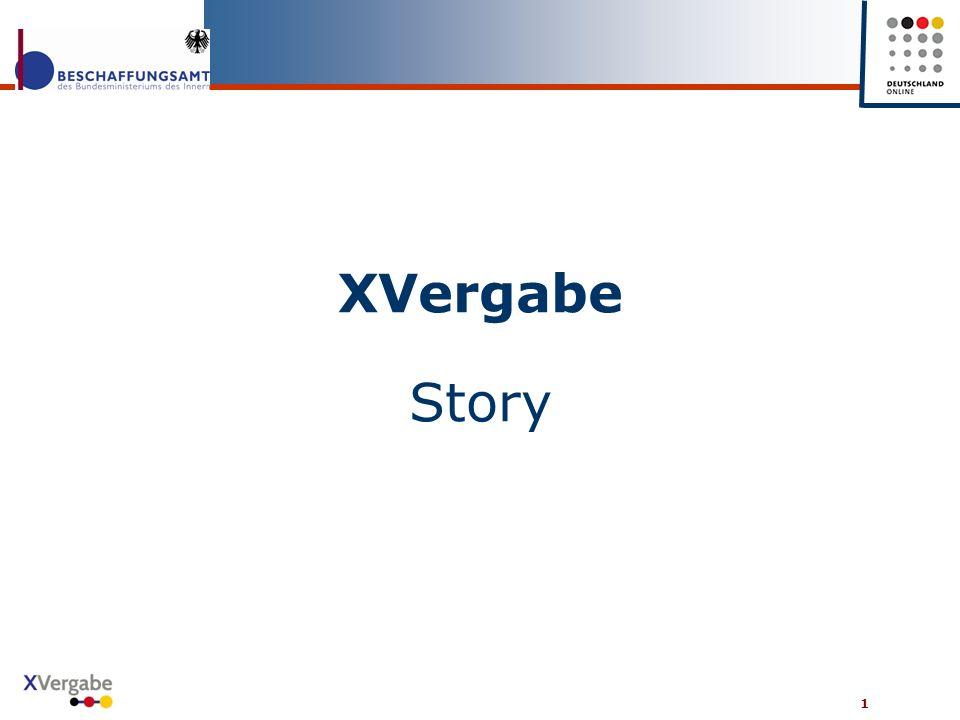 1 XVergabe Story