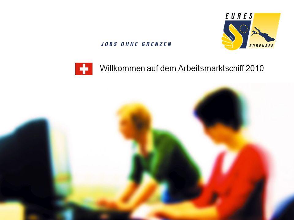 Willkommen auf dem Arbeitsmarktschiff 2010