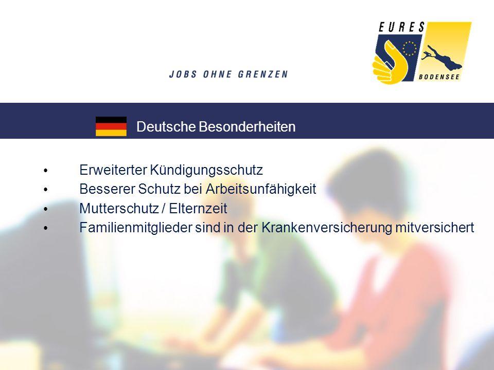 Hotel- und Gaststättengewerbe (Sommersaison) Metallverarbeitendes Gewerbe Sozialpflegerische Berufe Ingenieure / Techniker / Elektroniker IT-Branche: Softwareentwickler Wer ist im deutschen Teil der Bodenseeregion besonders gefragt?