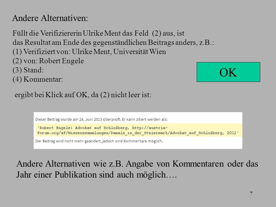 8 Insbesondere sind auch Importe aus der deutschen Wikipedia möglich.