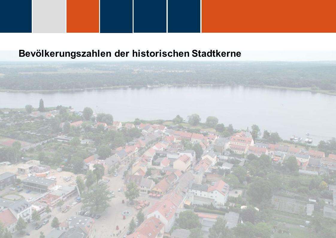 fdggfg Bevölkerungszahlen der historischen Stadtkerne