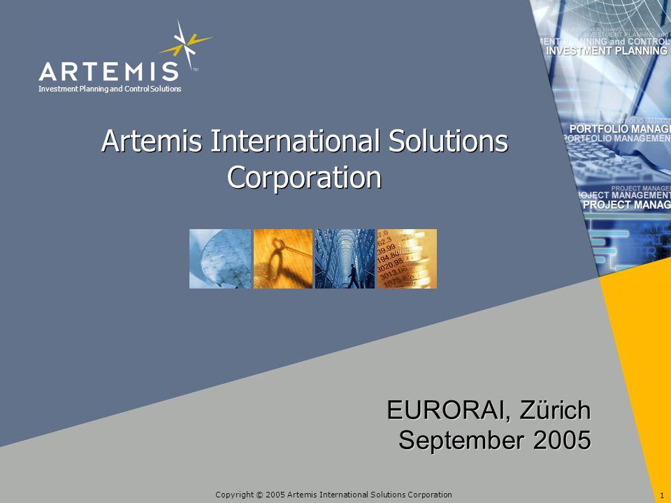 Copyright © 2005 Artemis International Solutions Corporation 2 Agenda Einleitung Communauté Urbaine de Bordeaux Erfolgsfaktoren Zusammenfassung