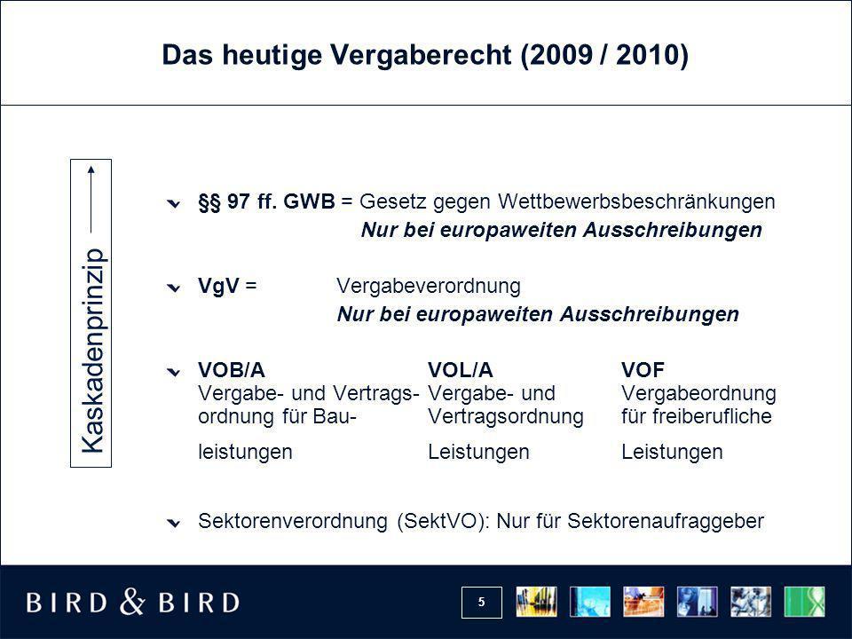 16 Öffentlicher Auftraggeber (§ 98 GWB) Klassische öffentliche Auftraggeber, § 98 Nr.