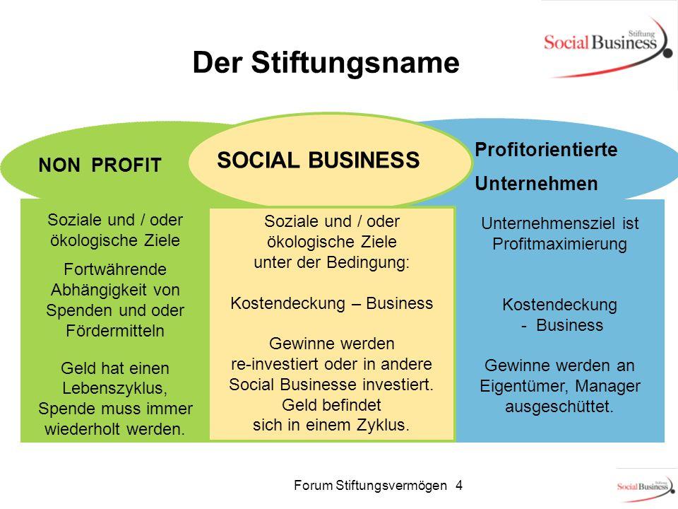 Unternehmensziel ist Profitmaximierung Kostendeckung - Business Gewinne werden an Eigentümer, Manager ausgeschüttet. SOCIAL BUSINESS NON PROFIT Sozial