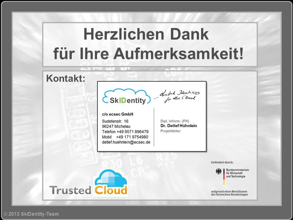 © 2013 SkIDentity-Team>>34 © Copyright 2010 ecsec GmbH, All Rights Reserved.