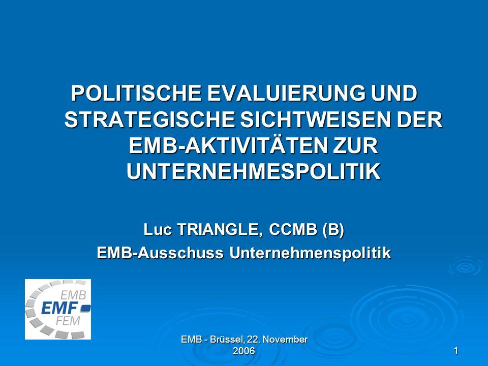 EMB - Brüssel, 22.