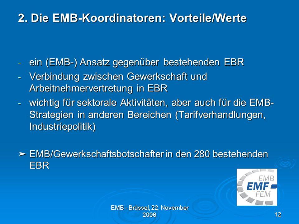 EMB - Brüssel, 22.November 200612 2.