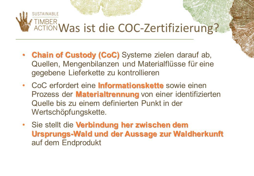 Was ist die COC-Zertifizierung.