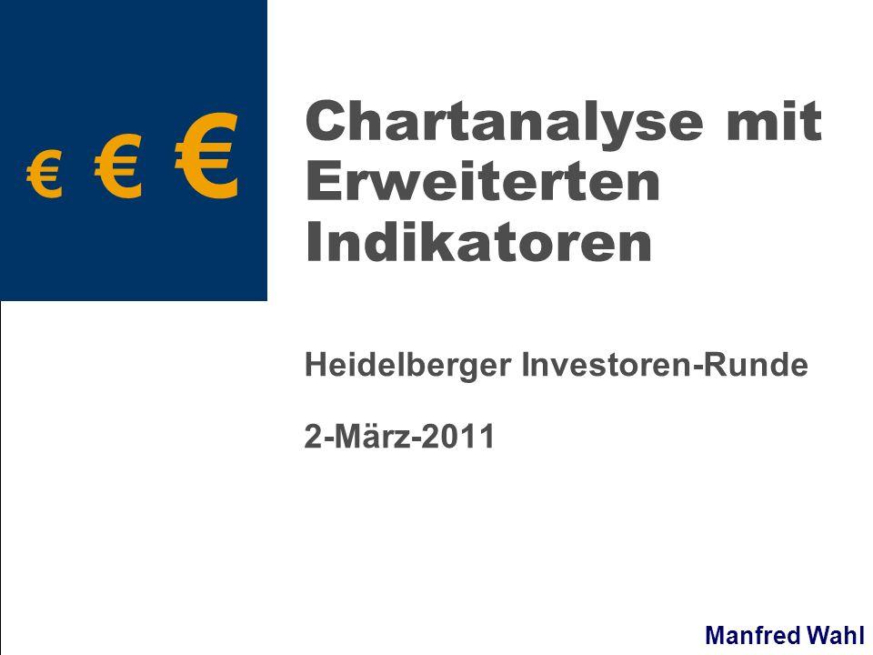 Manfred Wahl Chartanalyse mit Erweiterten Indikatoren Heidelberger Investoren-Runde 2-März-2011