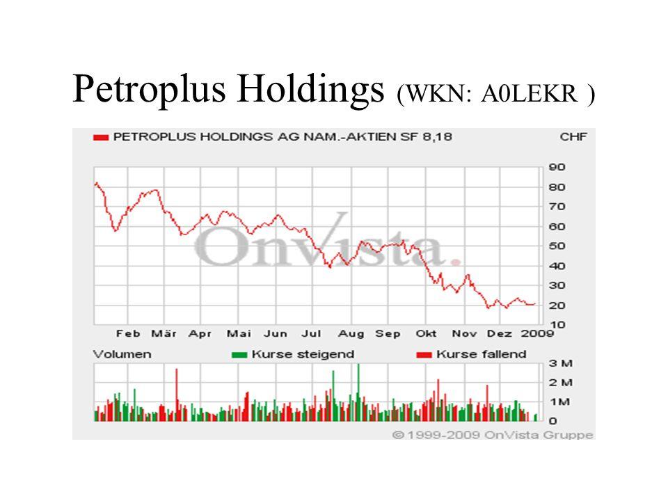 Petroplus Holdings (WKN: A0LEKR )