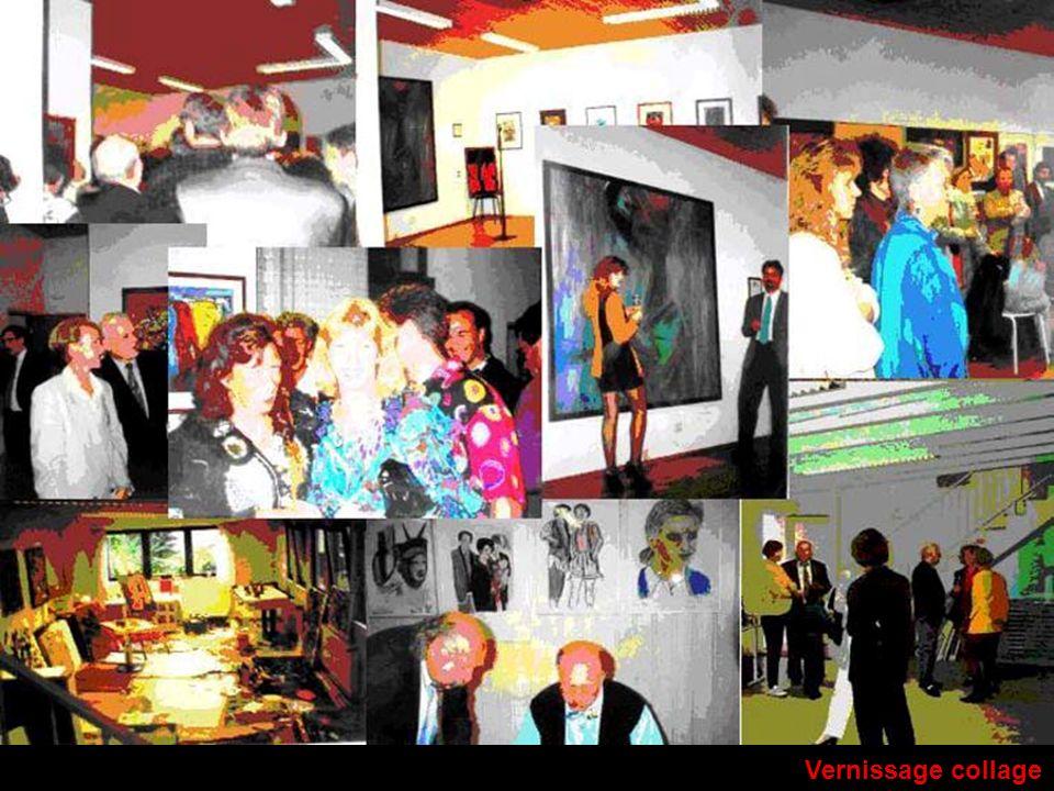 Vernissage collage