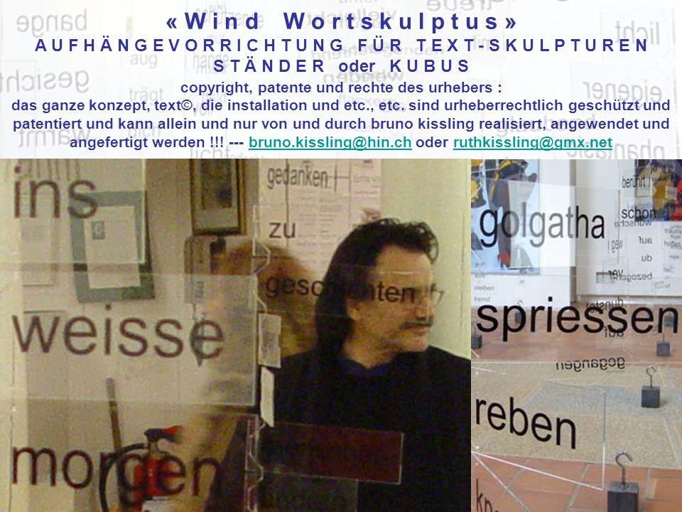 copyright, patente und rechte des urhebers : das ganze konzept, text©, die installation und etc., etc.