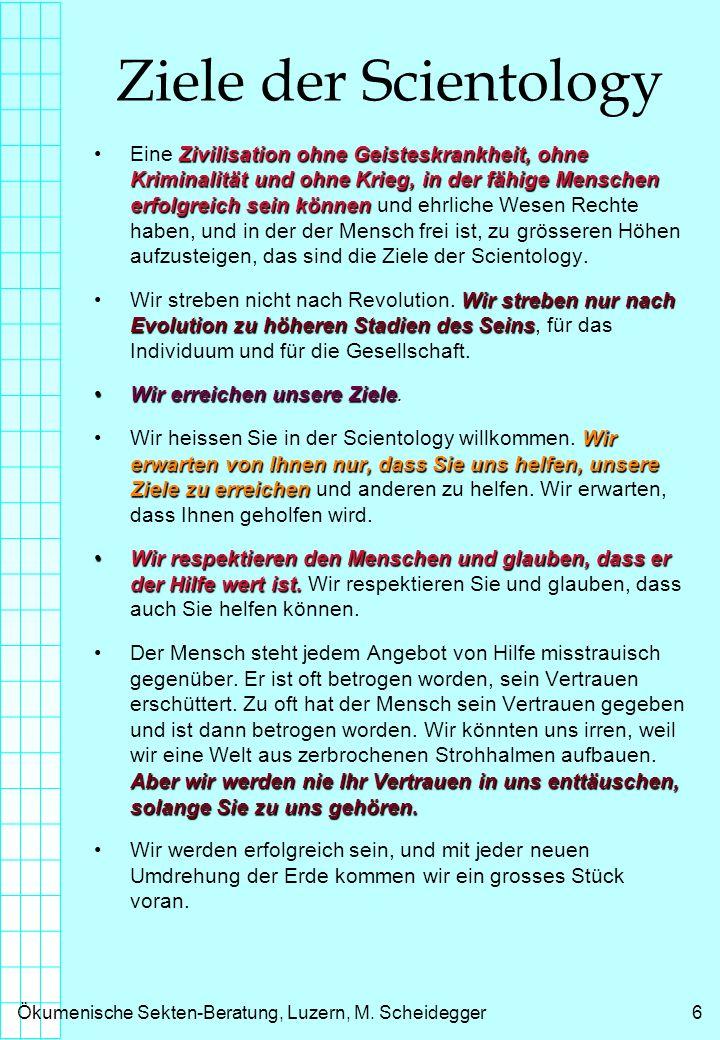 Ökumenische Sekten-Beratung, Luzern, M.Scheidegger7 Der Ehrenkodex von L.