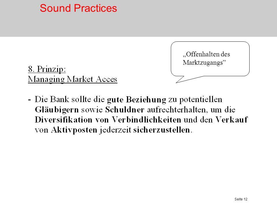 Seite 13 Notfallplanung Sound Practices