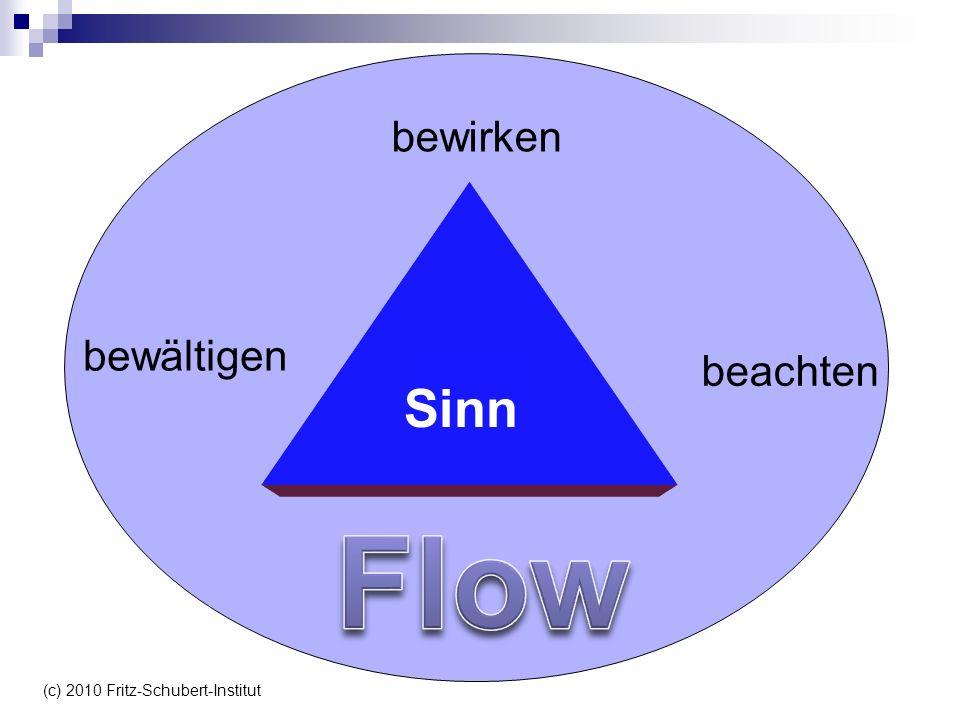 bewirken beachten bewältigen Sinn (c) 2010 Fritz-Schubert-Institut