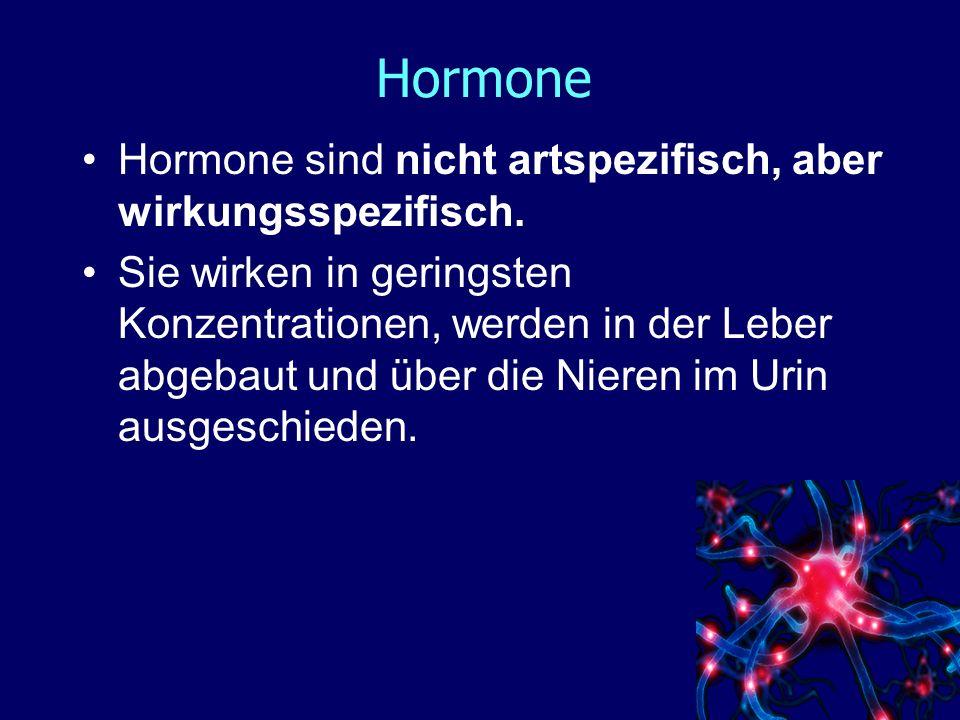 Hormone Organsysteme, die in Stresssituationen aktiviert werden : Herz-Kreislauf – System : z.B.