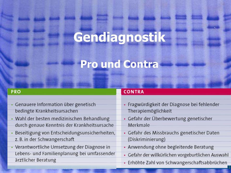 1501.08.2005, © Peer Millauer Pro und Contra Gendiagnostik