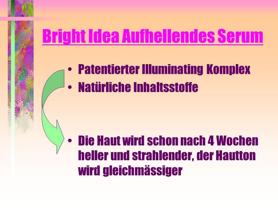 Bright Idea Aufhellendes Serum Patentierter Illuminating Komplex Natürliche Inhaltsstoffe Die Haut wird schon nach 4 Wochen heller und strahlender, de