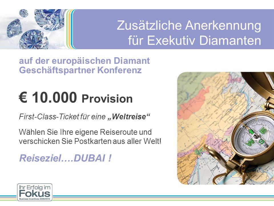 auf der europäischen Diamant Geschäftspartner Konferenz 10.000 Provision First-Class-Ticket für eine Weltreise Wählen Sie Ihre eigene Reiseroute und v