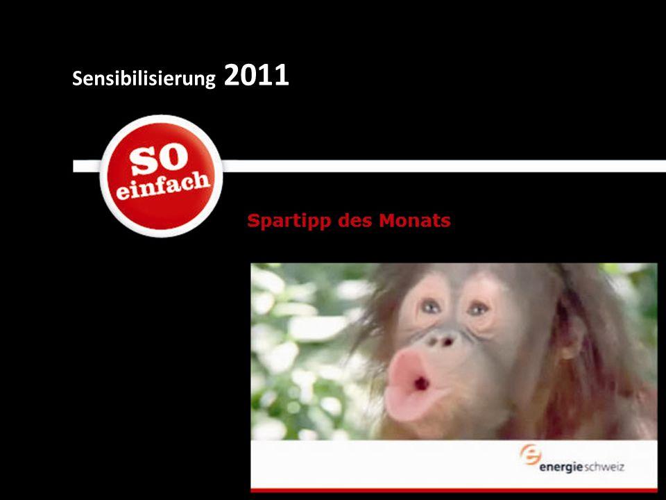 Sensibilisierung 2011