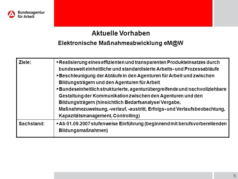 4 Aktuelle Vorhaben Produktstraffung/ Produktoptimierung Ausgangslage:Vielfältiges und schwer überschaubares Produktportfolio sowohl für Vermittlungsf
